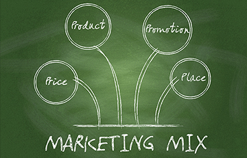 Marketing mix (4P) in export